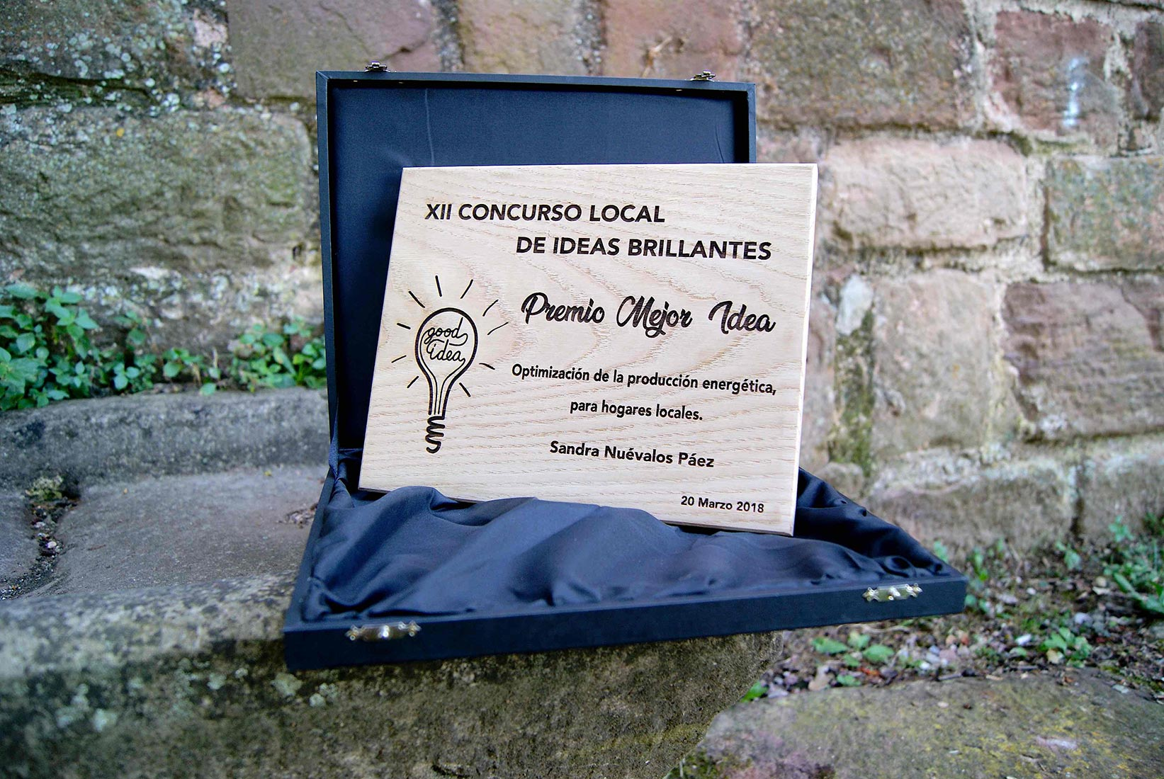 placa-ideas-brillantes-2018